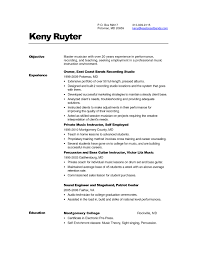 Music Resume Template Cv Template Bank Clerk Copy Brilliant Ideas Music Resume Sample 14