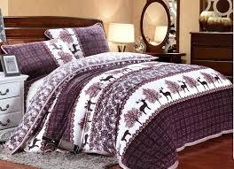 aliexpresscom winter warm and nordic style bedding set moose design mink cashmere bedsheet queen 4pcs