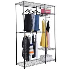 Heavy Duty Coat Rack With Shelf Furniture How To Make Closet Shelves Temporary Clothes Rack 45