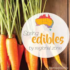 Spring Herb Fruit Vegies Planting Guide By Regional Zones