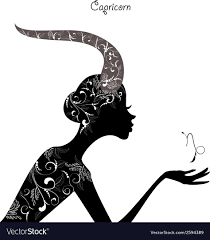 Zodiac Sign Capricorn Fashion Girl