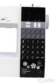 <b>Швейная машина Janome Decor</b> Computer 7100 (7100 DC - Для ...