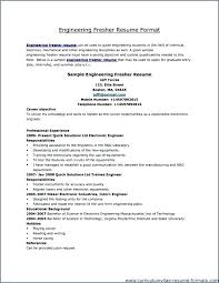 All Resume Format Free Download Resume Format For Freshers Pdf Resume Format For Freshers Mechanical