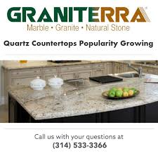 quartz countertops growing in popularity
