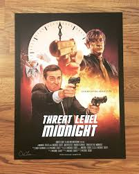 the office posters. 18 X 24 POSTER - Threat Level Midnight Thumbnail 1 The Office Posters