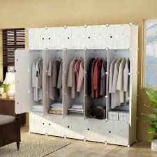 clothing closet storage youud 68 wardrobe storage closet clothes portable wardrobe storage closet portable closet