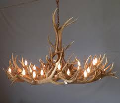 image of wonderful antler chandelier