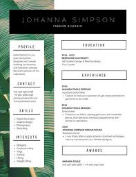 Modern Resume Design Beauteous Customize 60 Modern Resume Templates Online Canva