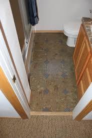 floating cork flooring in a kitchen