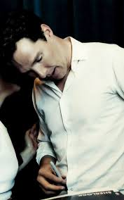 Benedict Cumberbatch.... okay I love this picture. Once again that is a  normal sized sharpie in his…   Benedict cumberbatch sherlock, Benedict  cumberbatch, Sherlock