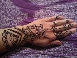 Tetování Hennou Prožij Indii
