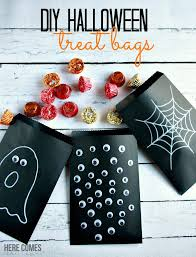 homemade halloween candy bags. Simple Bags These Halloween Treat Bags Are Easy To Make And Fun Share And Homemade Candy Bags S
