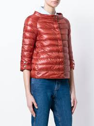 Herno Quilted Cropped Jacket - Farfetch & ... Herno quilted cropped jacket Adamdwight.com