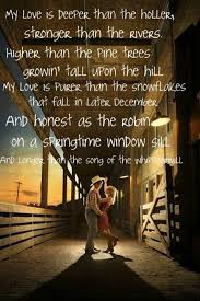 Country Love Song Quotes Custom Country Love Song Lyrics Dolson Wedding