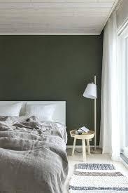 dark green walls via simply grove bedroom wallpaper