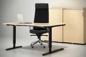 ikea furniture office. BEKANT Standing Desk By IKEA \u2013 Ergonomic Office Furniture Design Ideas Ikea