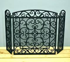 fireplace screen with doors cast iron fireplace screen cast iron fireplace screen s s s decorative cast iron fireplace screen with doors