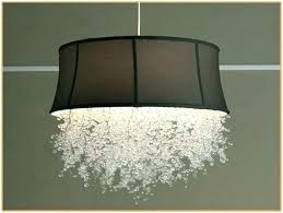 crystal drum shade chandelier drum shade chandelier large drum chandelier with crystals drum shade chandelier with