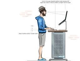 desk ergonomic standing desk chair standing desk ergonomics regarding new household ergonomic standing desk designs