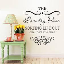 Diy Laundry Room Decor Aliexpresscom Buy Wall Sticker Quotes Bathroom Laundry Room