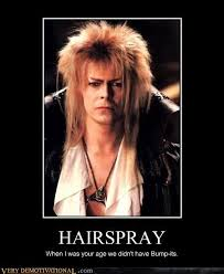 David Bowie Meme | No One Has Hair Like Bowie | funny memes ... via Relatably.com