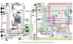 color wiring diagram finished the 1947 present chevrolet & gmc 71 chevelle wiring harness 71 Chevelle Wiring Diagram #32