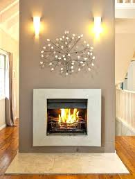 gas fireplace surround replacement ideas list with large rustic hearthstones