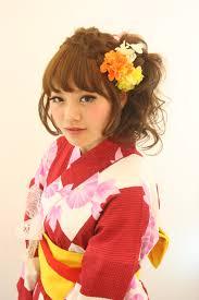 浴衣の最新髪型2012 渡辺由里絵
