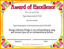 Certificate Of Achievement Examples Sample Achievement Award Certificate Fresh 24 Certificate Award 18