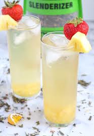 fruity green tea spritzer the
