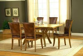 rare used solid oak dining table and 6 chairs used dining set for solid oak