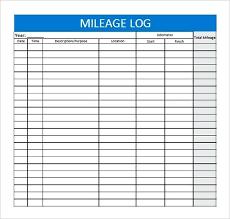 Mileage Tracker Excel Gas Mileage Tracker Fuel Consumption