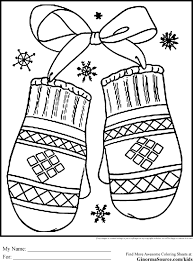 Free printable coloring pages for kids and adults. Winter Holiday Coloring Pages Mittens Crayola Colouring Snow Wonderland Sled Page Scene For Free Printable Kids Sheets Oguchionyewu