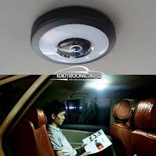 Đèn LED ốp trần 3 chế độ sáng, sạc pin cho ô tô tại Hà Nội