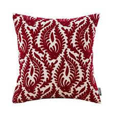 red sofa pillows. Perfect Red HWY 50 Wine Red Couch Throw Pillows Covers 18 X Inch  1 Pcs Cotton Inside Sofa L
