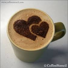 coffee cups with coffee love. Fine Coffee And Coffee Cups With Love A