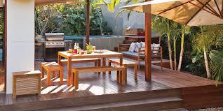 Backyard Decking Designs Model Simple Design