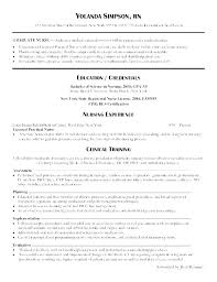 nursing resumes for new grads new grad nursing resume template