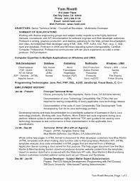 Programmer Resume Sample Software Programmer Resume Sample Luxury Templates Seniorre 46