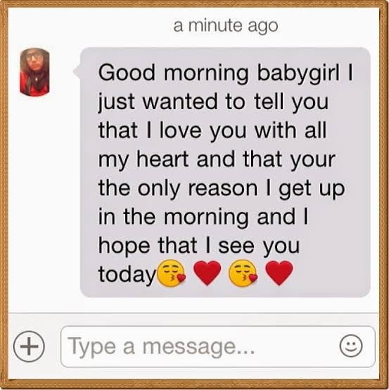 cute love text messages for her