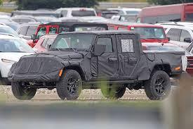Spy Shots: 2019 Jeep Wrangler Pickup Truck Details | Trucks.com