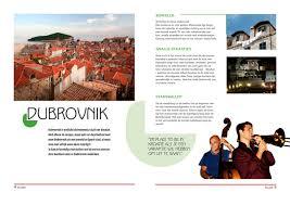 Reisbrochure Reisinformatie Voor Toeristen Kroatie Vakantie Arena