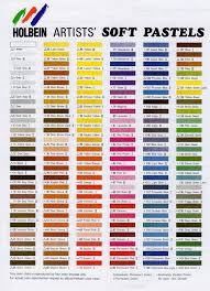 Rembrandt Pastel Color Chart 76 Conclusive Rembrandt Soft Pastels Color Chart