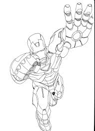 Small Picture Printable Coloring Pages Iron Man