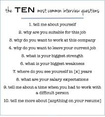 Assistant Interview Questions Ten Most Common Interview Questions Interview Questions Common