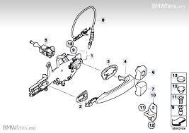 door handle parts. Door Handle Front/lock, Single Parts
