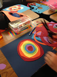 Celebrating International Dot Day With My Elementary Combo Class Art Using Colored Paper L