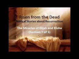 The Miracles Of Elijah And Elisha Youtube