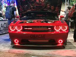 Red Oracle Lights 2008 2014 Dodge Challenger Oracle Led Surface Mount