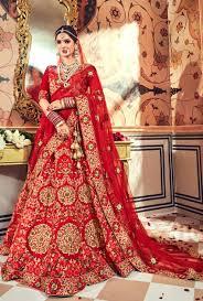 Latest Indian Wedding Lehenga Designs Blood Red Bridal Lehenga Indian Wedding Lehenga Red